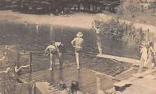 Rumney Depot New Hampshire NEFE Conference Grounds swimmers antique pc Z21457