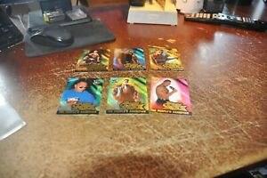 wwf fleer 2001 the people's champion chase cards insert set wrestlemania lot 10
