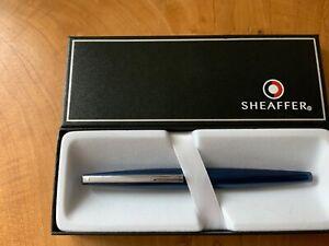 Sheaffer Taranis 9445 Blue Fountain Pen RRP £99 Fine(New) Free UK Post