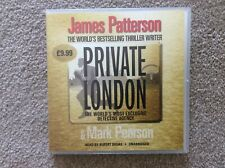 James Patterson, Private London. Audio cd. Unabridged