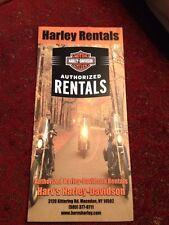 Harv's Harley Davidson / Bed N Biker, Macedon NY , Brochure