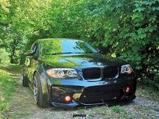 """Fender flares for BMW 1 CONCAVEwide body wheel arches E81 E82 E87 2.75"""" 4pcs"""