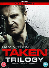 TAKEN 1 TO 3 BOXSET - DVD - REGION 2 UK