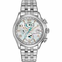Citizen Eco-Drive Women's FC0000-59D A-T World Time Chronograph 39mm Watch