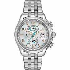 Citizen Eco-Drive Women's FC0000-59D A-T World Time Chronograph Watch