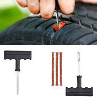 Emergency Car Bike Motorcycle Tubeless Tyre Tire Puncture Repair Kit Tool Strips