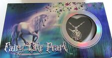 Fairy Tale Pearl - Unicorn Necklace & Pendant- genuine pearl in oyster