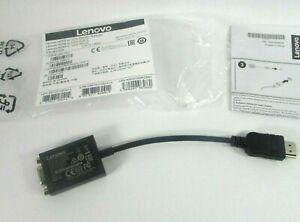 Genuine Lenovo HDMI TO VGA Adapter Dongle Cable 03X7583 CH7101B-02 Unused