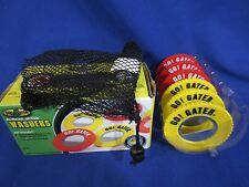 Go! Gater All Weather WASHERS Toss Set of 6 Tailgate Game + Bag Bottle Openers