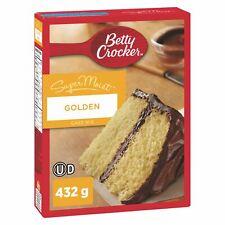 Betty Crocker Golden SuperMoist Cake Mix 432g From Canada FRESH DELICIOUS