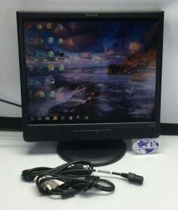 "19"" INCH PLANAR PL1910M 997-2797-00 LCD BLACK MONITOR W/ STAND, VGA, DVI, POWER"