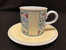 Villeroy & Boch Virginia Tea Cup and Saucer New Stickers Sold Individually