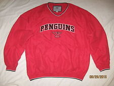 YSU Penguins Pullover Jacket Coat Mens Large NCAA Youngstown St Tressel