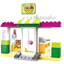 """Lego Supermarket & Building - """" Items bidding on are seen in the Photo """" NEW"""
