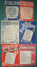 Lot of Peter Maurice Albums Popular Song & Dance Hits 1, 2, 12, 18, 21 & 25