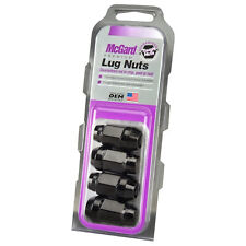 McGard 64015 Black M12x1.50 Bulge Acorn Cone Seat Lug Nuts
