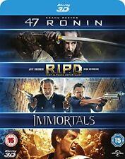 47 Ronin   RIPD   Immortals 3D [Blu-ray] [2011] [Region Free]