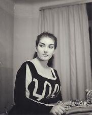 Maria CALLAS (Soprano): Large 1953 PICCAGLLANI Photograph of the Diva as Medea