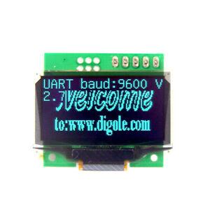 "1.3"" Serial:UART/I2C/SPI 128x64 OLED Display Module Blue for Arduino/PI/PIC"