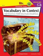 The 100+ Series Vocabulary in Context: 1500 Words Every Middle School Student Sh