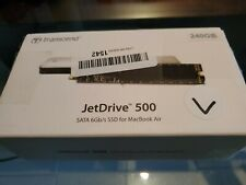 240GB Transcend JetDrive 500 SSD for MacBook Air Late 2010 / Early 2011