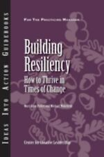 Building Resiliency: How to Thrive in Times of Change (Ideas Into Action Guidebo