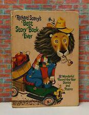 Richard Scarry's Best Story Book Ever vintage storybook