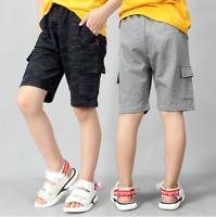 Kinder Jungen Shorts  kurze Hose Jungs Jogginghose Freizeit Sommer Shorts
