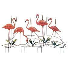 New Flamingo Garden Stake Lawn Yard Outdoor Set Decor Bird Tropical Pink Statues