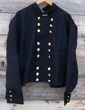civil war union reenactor officers double breasted shell jacket 46  02