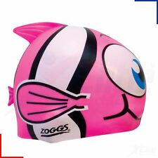 Zoggs Easy Fit Junior Goldfish Silicone Character Swimming Cap