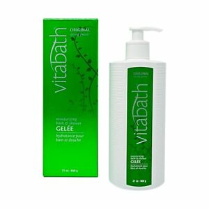 VITABATH ORIGINAL SPRING GREEN MOISTURIZING BATH & SHOWER GELEE 21 OZ.