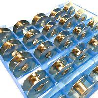 25 METALLSPULEN für PFAFF Nähmaschine SPULEN BOX Tipmatic, Tiptronic, Hobbymatic
