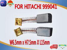 Carbon Brushes For Hitachi 999041 LUH-7 D-6C D-6V DG-6 DG-8 D-10V LSaw Drill