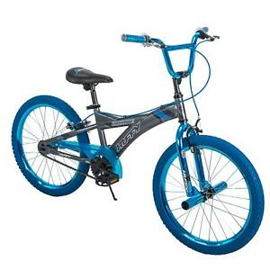 "Huffy 20"" Radium Metaloid BMX-Style Boys Bike, Blue"
