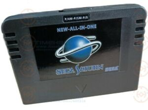 DHL NEW-ALL-IN-1 Pseudo Saturn Cartriage Direct reading Card with 4M Accelerator