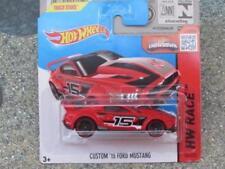 Coches, camiones y furgonetas de automodelismo y aeromodelismo Hot Wheels color principal rojo Ford