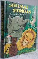 1968 Animal Stories By William Johnston Whitman USA IN 4 Tbe Demuestra Color