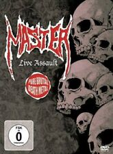 "Master ""Live Assault"" DVD [Paul Speckmann, Legendary Pure Brutal Death Metal]"
