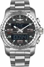 New Breitling Cockpit B50 Titanium Gray Dial Men's Watch EB5010B1/M532-176E