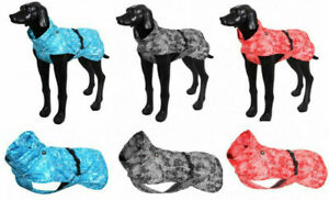 Hunderegenmantel wasserdicht mit Reflektionsstreifen Rukka 25-65 Hundemantel