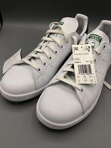 Adidas Original Stan Smith Vegan USSize 9 White Green New