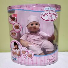 Zapf Creations My First Baby Annabell Doll Nrfb Vintage Rare Htf Free Shipping