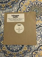 """Delinquent Habits Think You're Bad/This Is L.A. 12"""" Vinyl Single Promo"""
