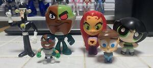 cartoon Network characters mix lot' figures.