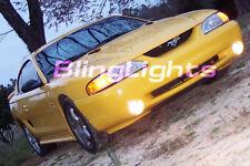 94-98 Ford Mustang Cobra Fog Lamps kit lights 95 96 97
