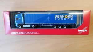 Herpa 308229 - 1/87 DAF XF Ssc Lowliner - Semi-Remorque - Verhoek Nl - Neuf