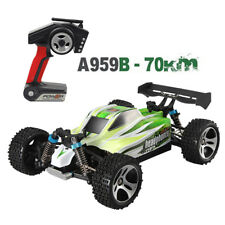 Wltoys A959 Upgraded 540 Brush Motor High Speed 50km/h 1:18 4WD 2.4G RC Car