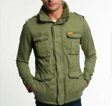 Superdry Rookie Military Jacket Duty Green size S retail $128.00 100% Authentic