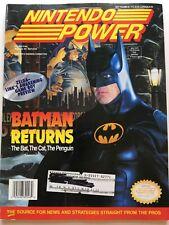 NINTENDO POWER 48 Zelda Link's Awakening, Batman Returns, Bubsy Poster Included